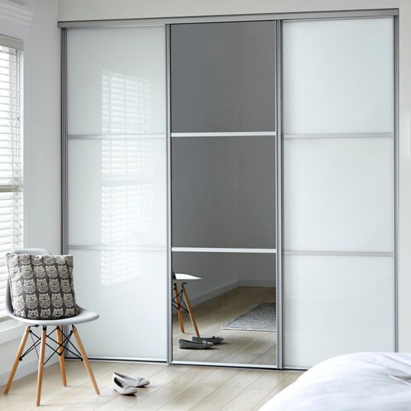 B And Q Sliding Wardrobe Doors Track on
